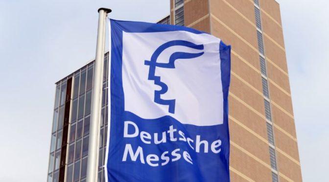 Deutsche Messe in Stellung für den Neustart