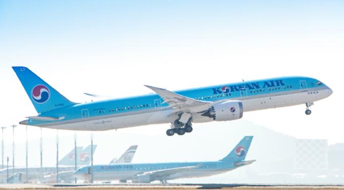 Korean Air: Betriebsgewinn trotz COVID-19-Krise