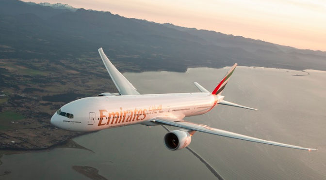 Emirates-Sonderflug mit 400 geimpften Passagieren