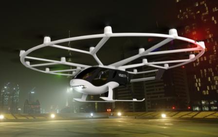 Volocopter: Elektrische Flugtaxis für Chinas Städte