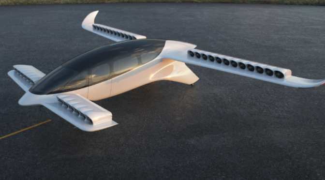 LILIUM entwickelt mit Honeywell 7-Sitzer Jet